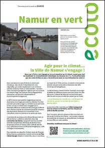 Nouveau numéro de notre magazine Namur En Vert